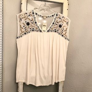 NWT Lucky Brand Tank Blouse Size 2X